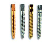 GOLDEN COMPOSITE SCREWS 12 PCS