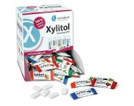 MIRADENT XYLITOL CHEWING GUM ASSORTED 200 x 2
