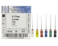 K FILES SIZES 08-50 MICROMEGA