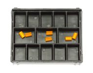 ORANGE CLIPS FOR BAR-CONNECTOR SYSTEM 50 UNITS